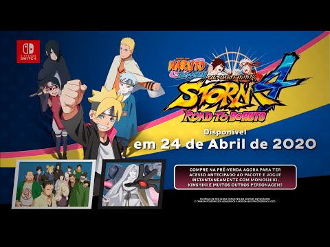 NARUTO SHIPPUDEN: ULTIMATE NINJA STORM 4 - Road to Boruto | Nintendo Switch