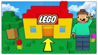 NOOB CONTRO IL MONDO DI LEGO! - Minecraft ITA