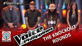 Team Sarah Knockout Rounds Decision: Jason, Shaira, Kokoi-Season 2