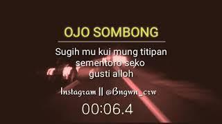 Download Ojo sombong Kabeh Kuwi mong titipane seng kuoso✌️
