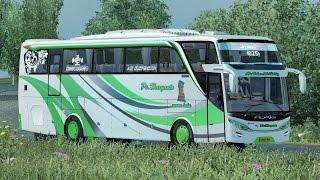 haryanto pariwisata jalur cipali || ets2 bus mod indonesia