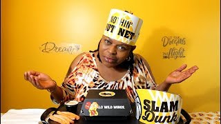 DRAGON FIRE WINGS CHALLENGE // Buffalo Wild Wings