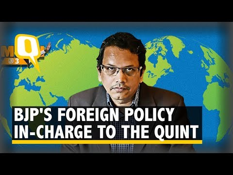The Quint: Modi @ 3: BJP's Foreign Policy In-Charge on Govt's Diplomatic Wins