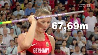 Katharina Molitor Speerwerfen letzter versuch Gold WM Peking 2015 HD
