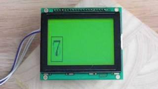 JP SerGLCD Module 128x64 Smaller Image Test