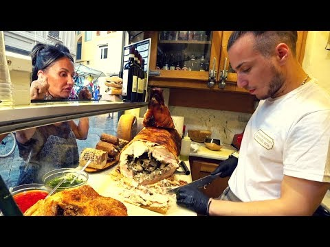 Italy Street Food: Florentine Pork 🇮🇹