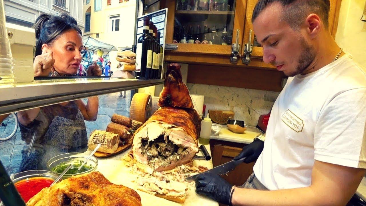 Italy Street Food: Florence Pork ????????