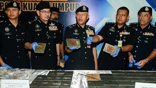 Police bust drug ring, seize RM2.14mil worth of drugs