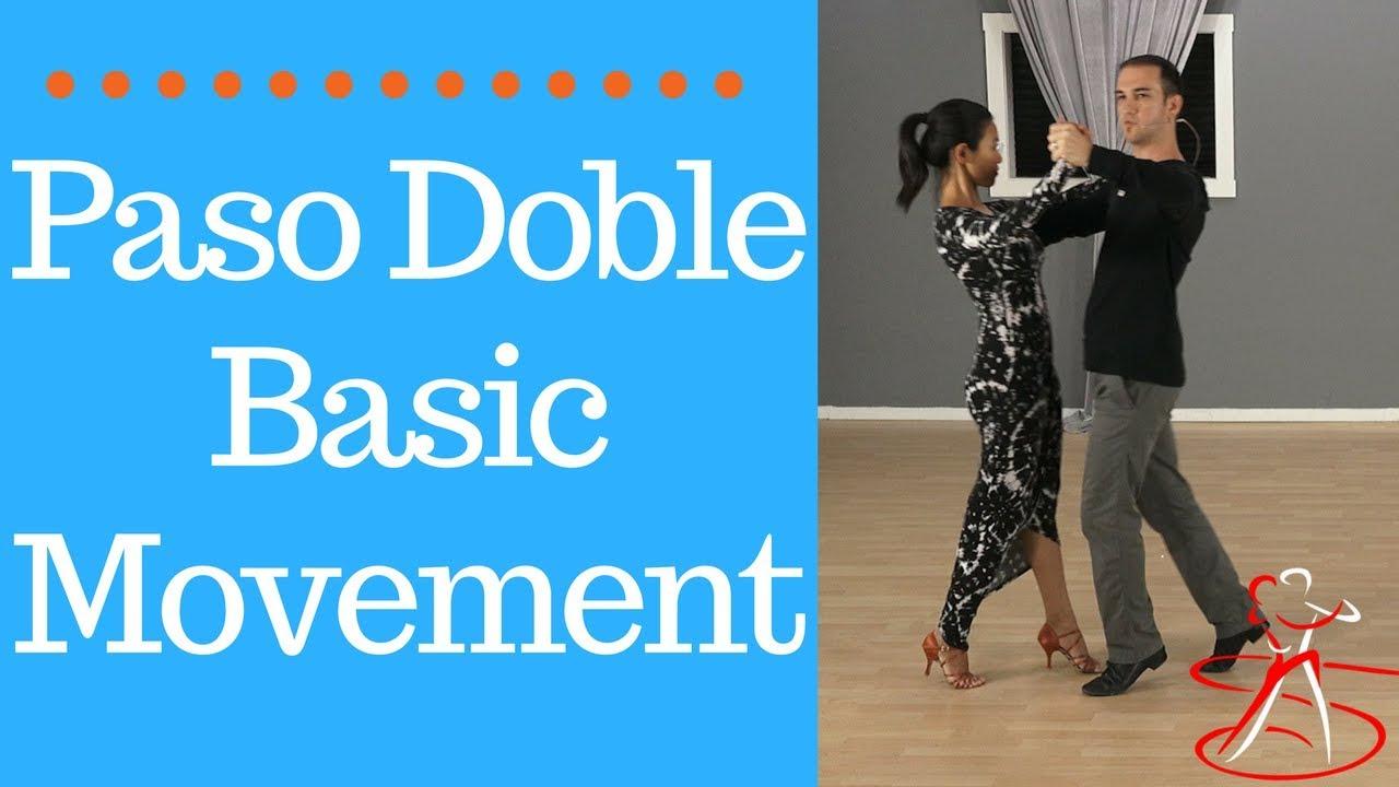Steps Kleding.Paso Doble Dance Steps Learn The Basic Movement Youtube