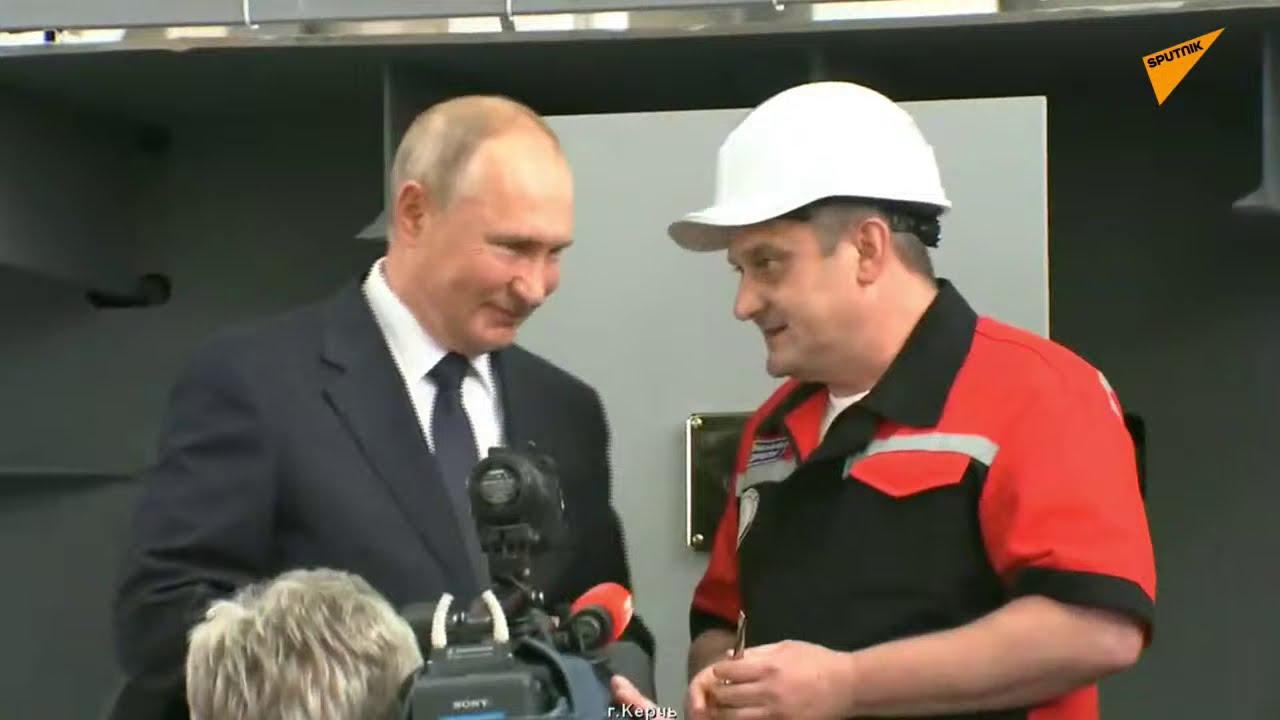 Путин на судостроительном заводе в Крыму: онлайн-трансляция