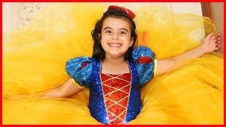 Prenses Rüya Oldu Pamuk Prenses, Doğum Günü Kıyafetimiz Geldi | Çocuk Videosu