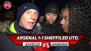 Arsenal 1-1 Sheffield Utd. | The Board Has Gone 18 Days Without Improving The Team! (Lee Judges)