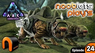 ARK Aberration TAMING ROLL RATS Nooblets plays Ep24