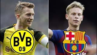 Borussia Dortmund vs Barcelona, Champions League Group Stage 2019 - TACTICAL PREVIEW