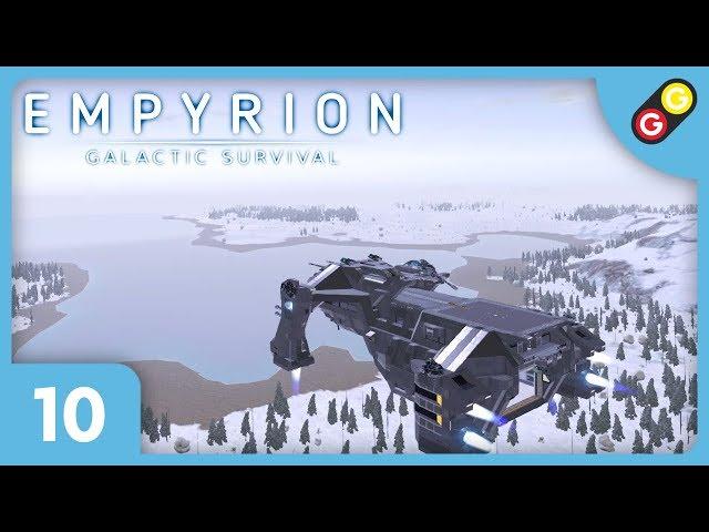 Empyrion #10 On découvre une planète enneigée ! [FR]