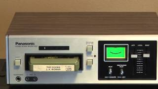 Panasonic RS-805 Stereo 8 Track Player/Recorder Tape Deck.mov