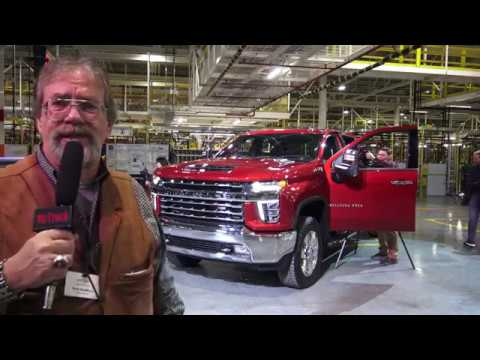2020 Chevrolet Heavy Duty factory tour in Flint, Part one en