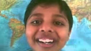 Smart kid reveals the benefits of listening to Thodi raga {Indian classical music}!
