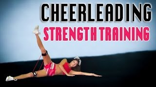 Cheerleading Leg Workout- Strength Training for Better Cheer Jumps