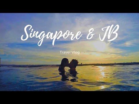 Travel Vlog | Singapore and Johor Bahru 2017