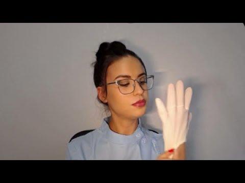 Enfermera Mady/Te Cura Las Heridas/Juego De Roles/ Suavemente Hablado ASMR