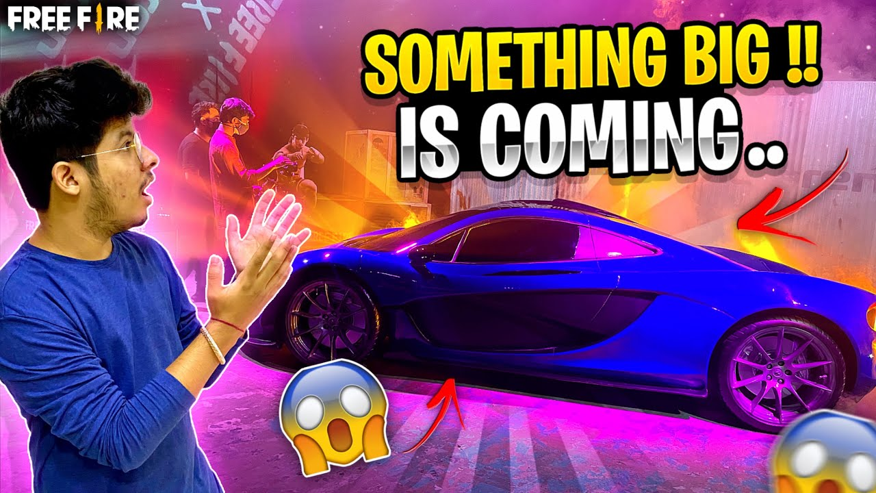 FreeFire - 😱Something Exciting is coming X McLaren
