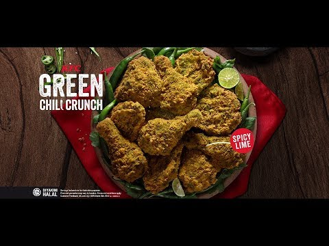 kfc-green-chili-crunch---it's-greener-on-our-side