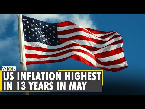 World Business Watch: US inflation highest in 13 years as prices surge 5% in May   WION English News