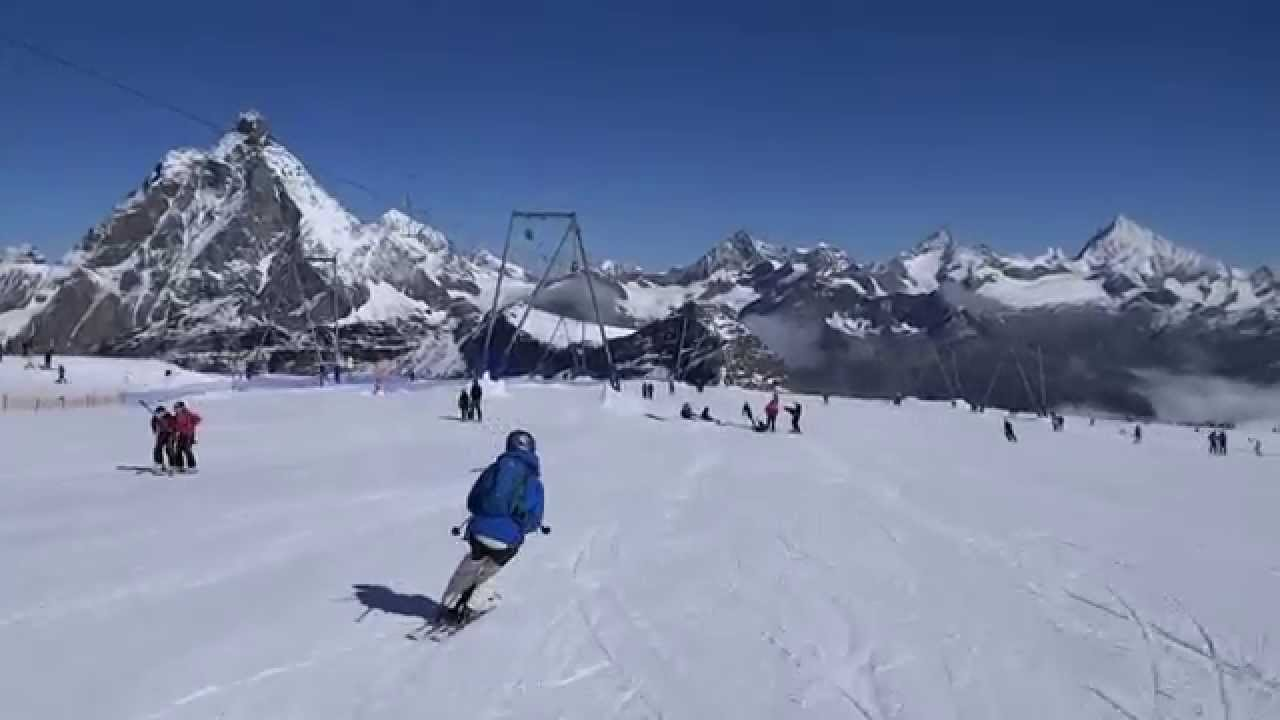summer ski matterhorn glacier paradise zermatt youtube. Black Bedroom Furniture Sets. Home Design Ideas