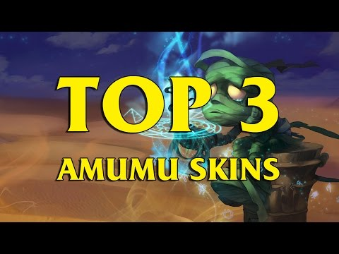 TOP 3 Custom Amumu Skins League of Legends