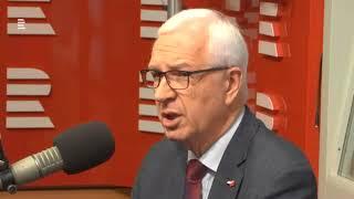 Prof. Jiří Drahoš vs. Miloš Zeman - Rozhovor v Radiožurnálu (1/2)
