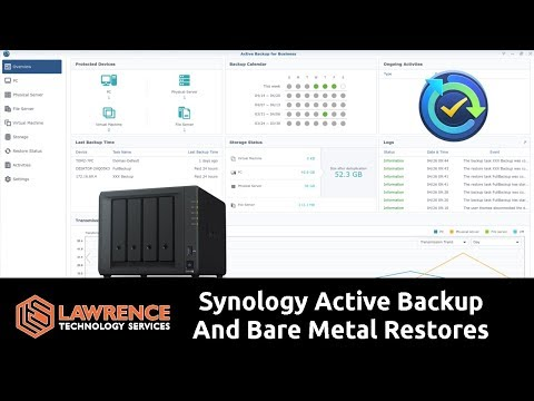 Synology Active Backup And Bare Metal Restores - Lawrence