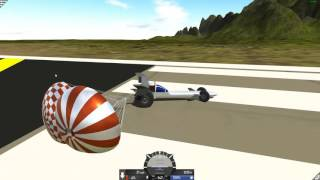 SimplePlanes 1.5 Beta - Parachutes! (PC Gameplay)