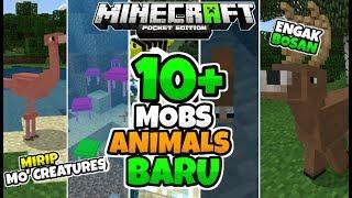 MCPE BARU...!!! BANYAK MOBS ANIMALS.. SUPER KEREN!!!