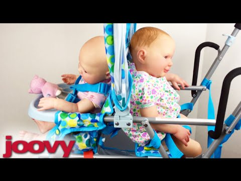 Blue And Pink Joovy Stroller Toy Caboose Unboxing And