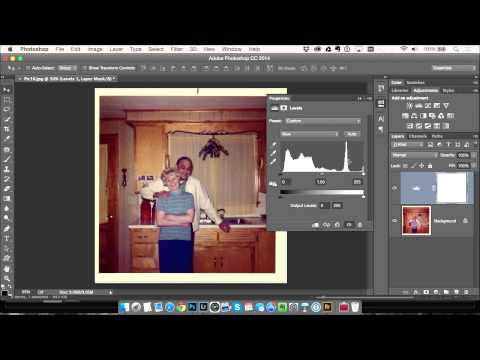 How to Easily Correct Colors in Old Photos Using the Levels Tool in Photoshop