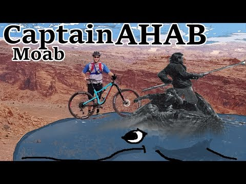 Captain Ahab Moab | Drone views of a very technical trail