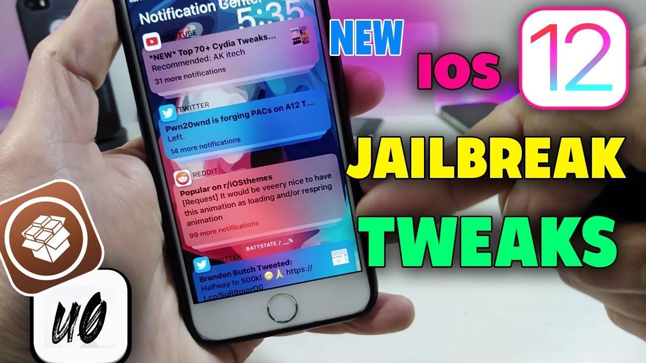 NEW IOS 12 - 12 1 2 Jailbreak Tweaks: Best Unc0ver Cydia Tweaks!