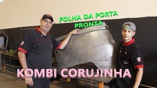 FABRICANDO A FOLHA DE PORTA DA KOMBI - FINAL