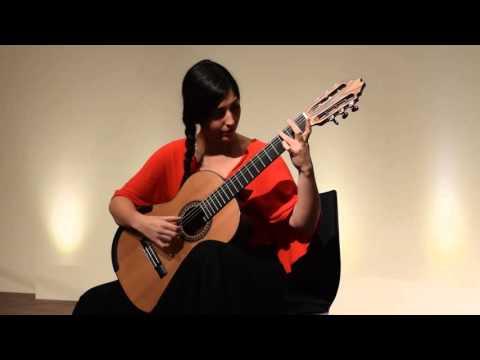 "Andrea González Caballero plays Fandango from ""Tres Piezas Españolas"" by Joaquin Rodrigo"