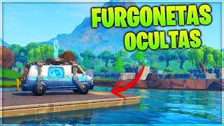 FORTNITE *COPIA* a APEX LEGENDS con las *FURGONETAS* OCULTAS PARA RESUCITAR EN FORTNITE