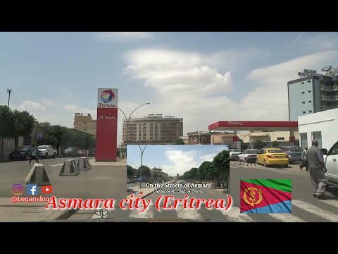 Asmara the capital city of [Eritrea]..On the street of Asmara city.