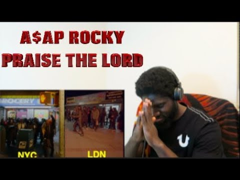 BLACKREACTS - A$AP Rocky - Praise The Lord (Da Shine) (Official Video) ft. Skepta