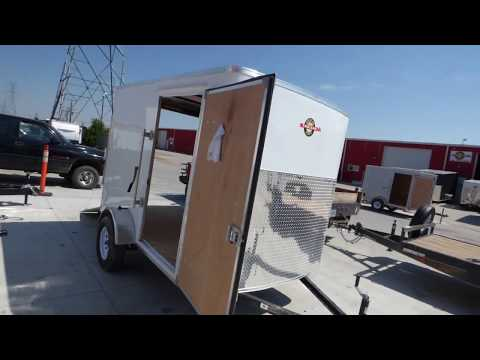 6x10 Standard Front Enclosed Cargo Trailer -
