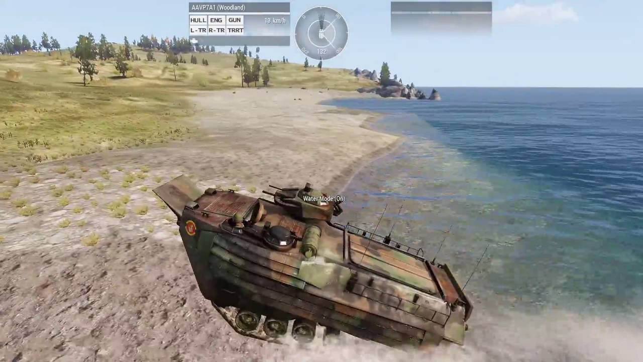 Arma3 CUP AAV test - YouTube