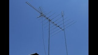 CHANNEL MASTER TV ANTENNA VS MY HOME-MADE TV ANTENNA