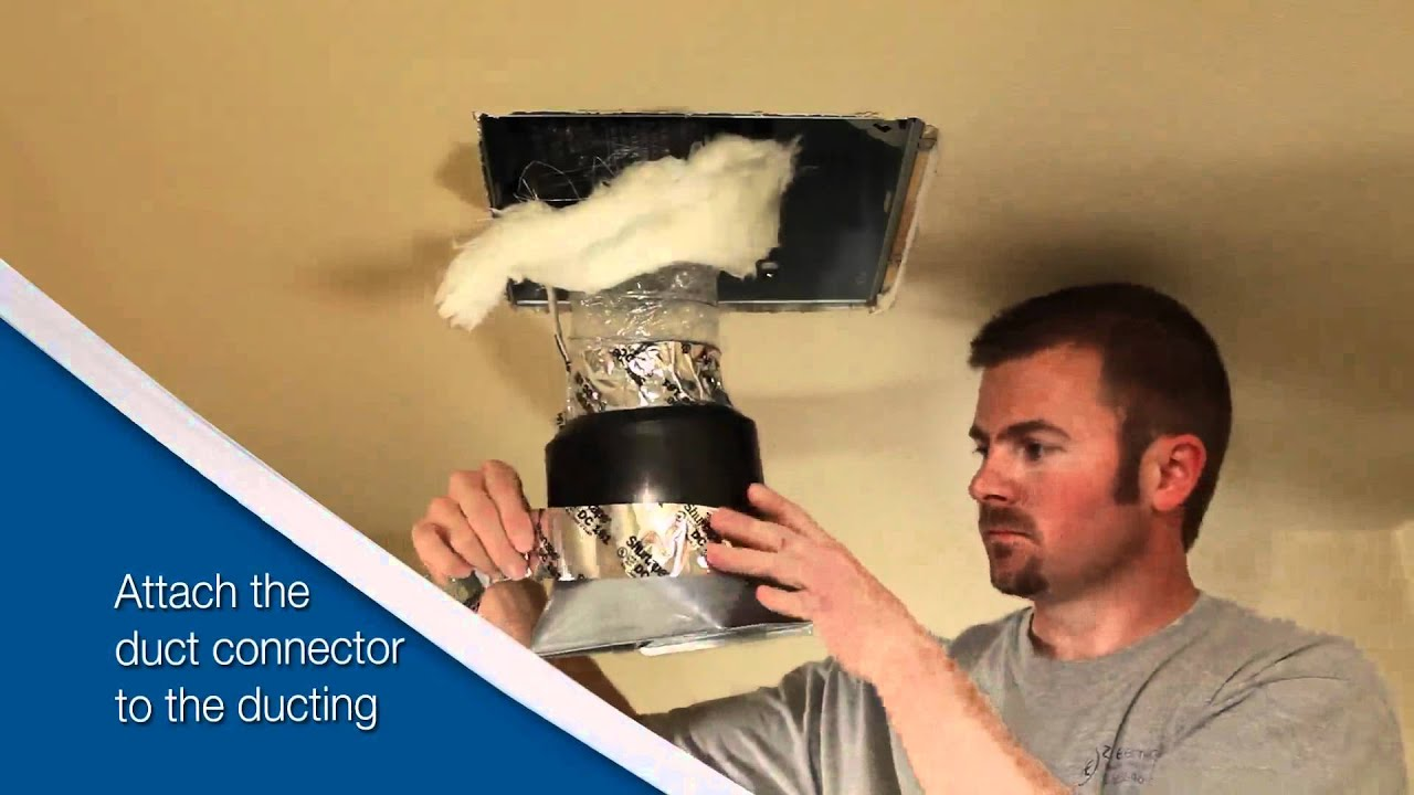 Broan Ultragreen Series Ventilation Fan Installation Video For Retrofit Youtube