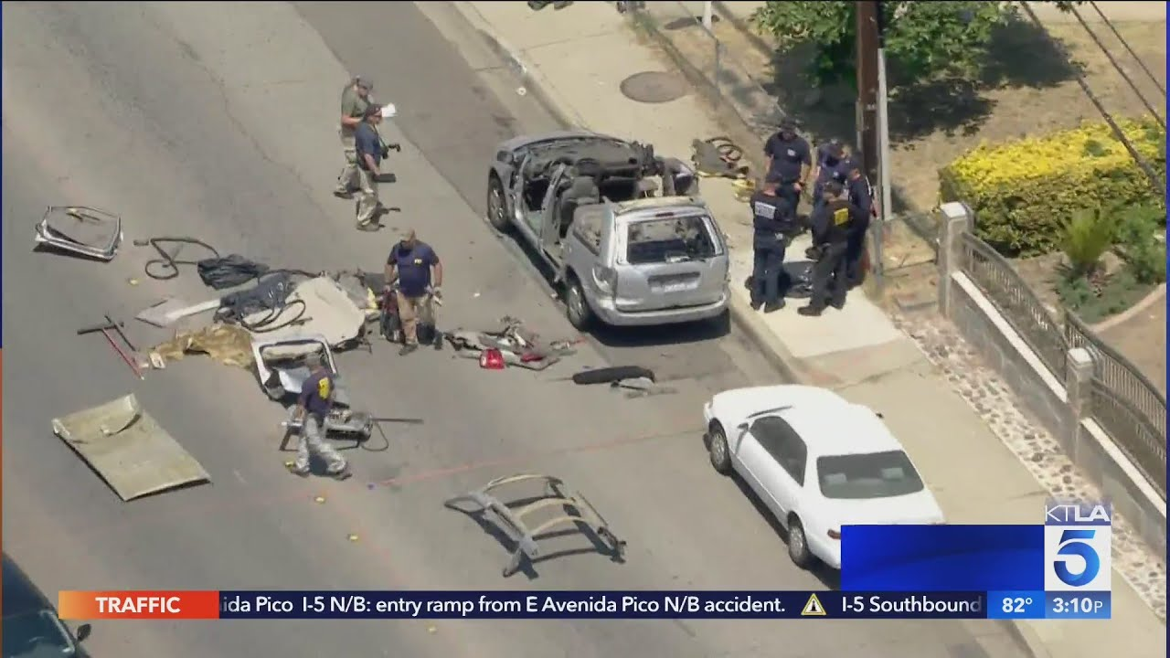 Minivan explodes in Montclair neighborhood, knocking out power to area; FBI investigating