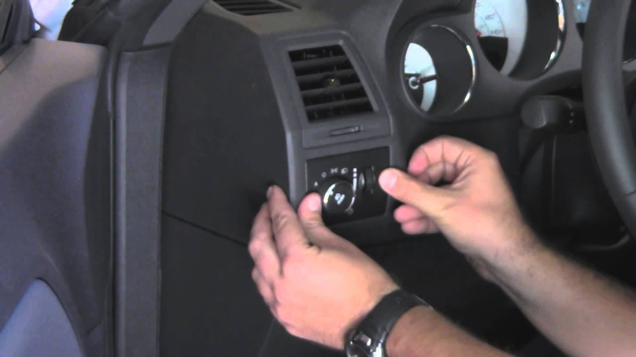 Install Fog Lights 2010 Dodge Challenger Se Sxt Youtube 2012 Avenger Fuse Diagram