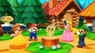 Mario Party: The Top 100 MiniGames - Daisy vs Luigi vs Peach vs Mario